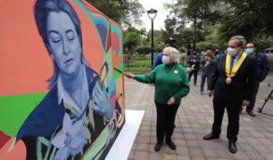 Municipalidad de Miraflores rindió homenaje a Chabuca Granda por los 100 de años de su nacimiento
