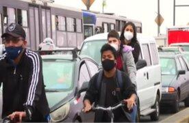 Cercado de Lima: Ciclistas no respetan reglas de tránsito en ciclovías