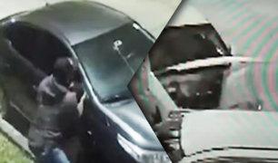 Ladrones de autopartes aprovechan toque de queda en San Miguel
