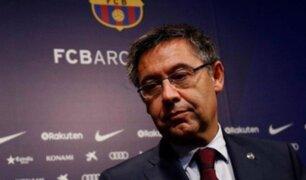 Bartomeu: presidente del Barcelona es acusado de corrupción