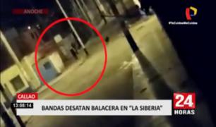 Callao: bandas rivales protagonizaron balacera