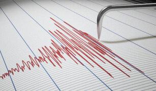 Sismo de magnitud 4.3 se registró esta mañana Apurímac