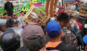 Chiclayo: denuncian que comerciantes agredieron a serenos durante operativo