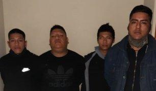 Detienen a ladrones que robaban autopartes en zonas residenciales de Lima