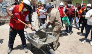 Trabaja Perú generará  más de 9,000 empleos temporales en la región Lambayeque