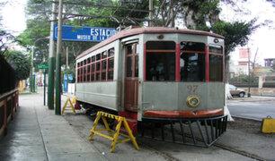 Barranco: municipio negó querer retirar rieles del tranvía