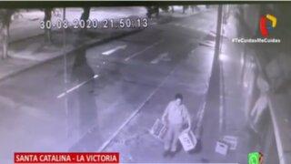 La Victoria: Empresarios y trabajadores de Santa Catalina están a merced de la delincuencia