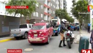 Mafias de colectiveros continúan operando en la avenida Arequipa: Miraflores