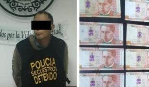 San Miguel: capturan sujeto que exigía S/ 70 000 para no atentar contra familia