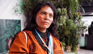 Día de la Mujer Indígena: entrevista exclusiva con  Ruth Buendía, la guardiana de la Amazonía