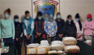 Tacna: interceptan taxi cargado con casi 25 kilos de droga y detienen a 9 personas