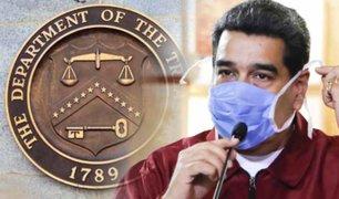 Estados Unidos sancionó a funcionarios de Nicolás Maduro
