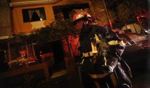 Incendio de proporciones afectó vivienda en  San Martín de Porres