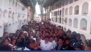 Huánuco: cientos de personas asistieron al entierro de una adolescente que falleció en accidente