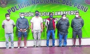 PNP intervino a tres presuntos sujetos que se dedicaba al proxenetismo en Chiclayo