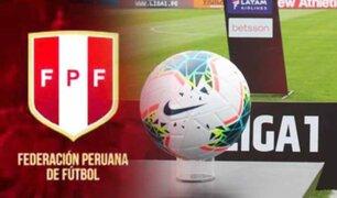 FPF: este año solo descenderán 3 equipos en la Liga 1