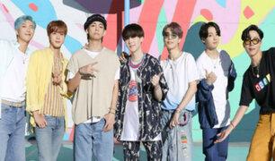 OMS agradece a banda BTS por fomentar el uso adecuado de la mascarilla