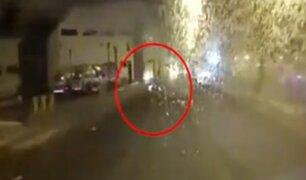 La Molina: robacasas atropellan a repartidor mientras huían de la policía