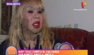 Susy Díaz contó en exclusiva el horror que vivió junto a Andy V