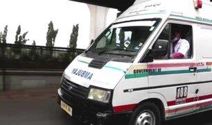 Paciente con la COVID-19 fue violada por chofer de ambulancia en India