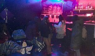 Arequipa: más de 25 personas fueron intervenidas durante inauguración de night club