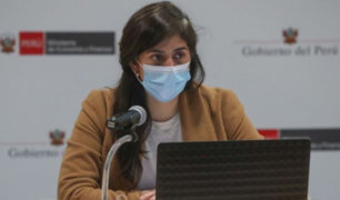 Ministra Alva: propuesta sobre ONP está centrada a que más peruanos tengan pensiones