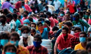 India se convierte en el segundo país con más contagiados de coronavirus a nivel mundial