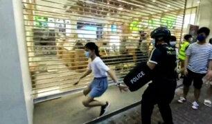 Hong Kong: Violenta detención  a niña de 12 años en medio de protestas