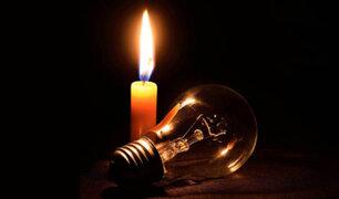 Enel realizará cortes de luz en Lima y Callao desde hoy hasta el sábado