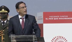 Presidente Vizcarra pide unidad a todos los peruanos para superar la pandemia del Covid-19