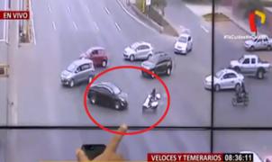 Se incrementa accidentes de tránsito de motociclistas en vías rápidas