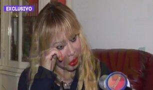 """Susy Díaz pide a las autoridades acelerar su divorcio de Andy V: """"No puedo salir a la calle"""""""