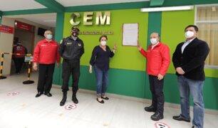 Ministra Sasieta inauguró nuevo Centro de Emergencia Mujer en comisaría de Maranga