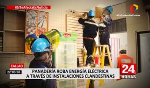 Callao: panadería roba luz mediante conexiones clandestinas