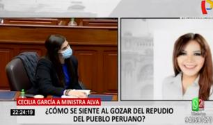 Cuestionan expresiones de la congresista García hacia la ministra de Economía durante interpelación