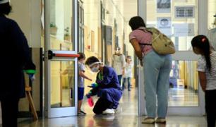España: más de 400 mil estudiantes regresan a las clases presenciales