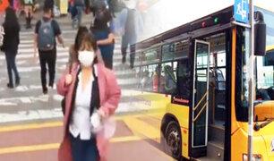 Metropolitano: usuarios afectados por suspensión temporal del servicio de 21 rutas alimentadoras