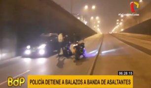 Cercado de Lima: policía frustra asalto y captura a banda 'Los caseros'