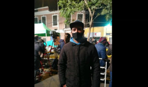 Derrumbe en Av. Abancay: despiden a hombre salió a ayudar a personas atrapadas