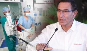 """Martín Vizcarra: """"Hemos incorporado a 15 mil profesionales de la salud"""""""