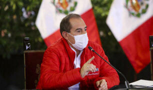 Martos: dos líderes de partidos políticos pidieron al Presidente postergar elecciones por dos años