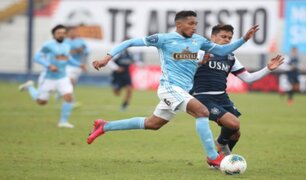 Torneo Apertura 2020: Sporting Cristal derrotó 2-0 a Universidad San Martín