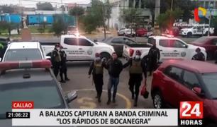"Callao: capturan a banda criminal ""Los rápidos de Bocanegra"""