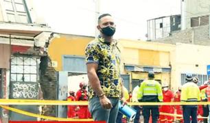 Venezolano busca trabajo tras ser despedido por ayudar a víctimas de derrumbe en Av. Abancay