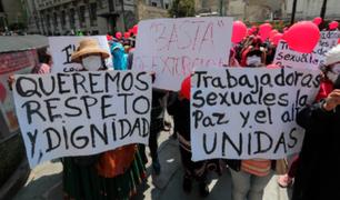 Bolivia: trabajadores sexuales protestaron para exigir reinicio de sus actividades