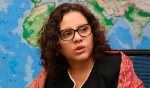 Retiran a fiscal Rocío Sánchez de la coordinación contra el crimen organizado en el Callao