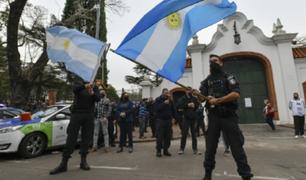 Argentina: policías protestan por mejoras laborales