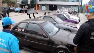 Magdalena: Cuatro conductores fueron detenidos por realizar piques ilegales
