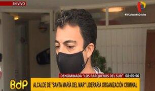 """Alcalde de Santa María: """"Han sembrado una denuncia para tratar de desprestigiarme"""""""