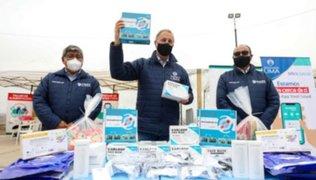 China donó 5 mil pruebas moleculares a la Municipalidad de Lima